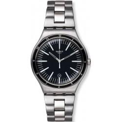 Buy Swatch Men's Watch Irony Big Classic Mire Noire YWS411G