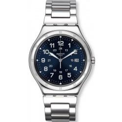 Buy Swatch Men's Watch Irony Big Classic Blue Boat YWS420G