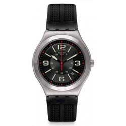 Buy Swatch Men's Watch Irony Big Classic Black Grid YWS444