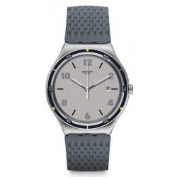 Buy Swatch Men's Watch Irony Big Classic Asphaltise YWS447