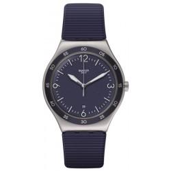Swatch Unisex Watch Irony Blue Suit Big Classic YWS453