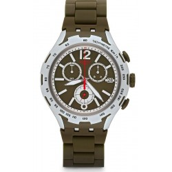 Swatch Men's Watch Irony Xlite Green Attack Chronograph YYS4022AG