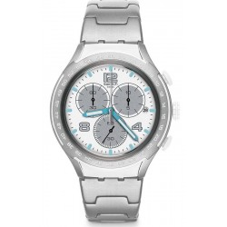 Swatch Men's Watch Irony Xlite Pure Attack YYS4024AG Chronograph
