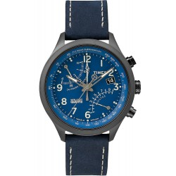 Buy Timex Men's Watch Intelligent Quartz Fly-Back Chronograph T2P380
