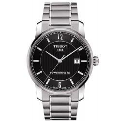 Tissot Men's Watch T-Classic Powermatic 80 Titanium T0874074405700