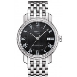 Buy Tissot Men's Watch Bridgeport Powermatic 80 T0974071105300