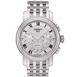 Buy Tissot Men's Watch Bridgeport Automatic Chronograph Valjoux T0974271103300