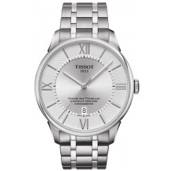 Buy Tissot Men's Watch Chemin des Tourelles Powermatic 80 COSC T0994081103800